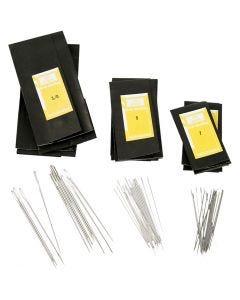 Aiguilles à repriser, dim. 3/0+5+7, L: 48-65 mm, 150 pièce/ 1 Pq.