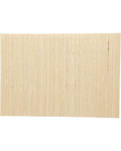 Natte de bambou pour feutrage, dim. 45x30 cm, 4 pièce/ 1 Pq.