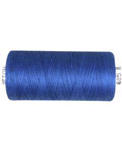 Fil à coudre, bleu moyen, 1000 m/ 1 rouleau
