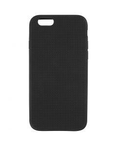 Protège portable à broder, dim. 6/6S, dim. 6,8x13,8 cm, noir, 1 pièce