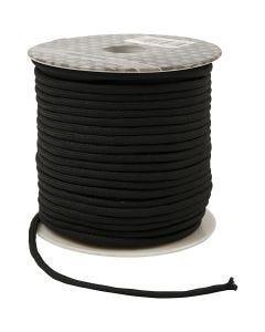 Corde pour macramé, ép. 4 mm, noir, 40 m/ 1 rouleau