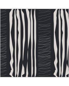 Tissu, L: 145 cm, 140 gr, noir, 1 par m