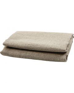 Toile de lin, L: 140 cm, 185 gr, 50 cm/ 1 Pq.