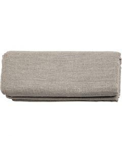 Toile de lin, L: 140 cm, 185 gr, 3 m/ 1 rouleau