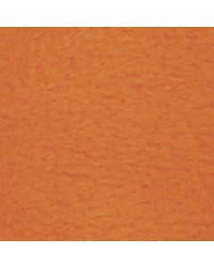 Polaire, L: 125 cm, L: 150 cm, 200 gr, orange, 1 pièce