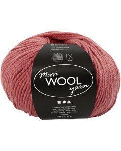 Pelotes de laine, L: 125 m, rose foncé, 100 gr/ 1 boule