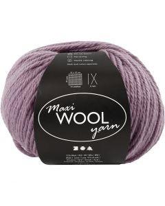 Pelotes de laine, L: 125 m, lavande, 100 gr/ 1 boule