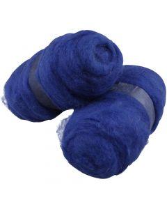 Laine cardée, bleu roi, 2x100 gr/ 1 Pq.