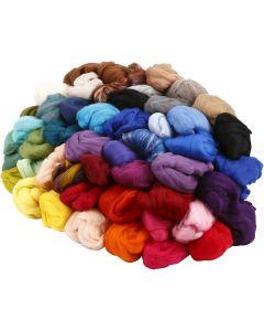 Laine, ép. 21 my, couleurs assorties, 20x20 gr/ 1 Pq.