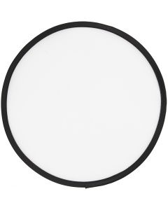 Frisbee, d: 25 cm, blanc, 1 pièce