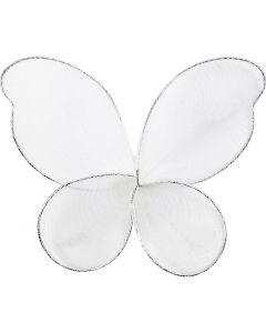 Ailes d'anges, dim. 7,5x5,5 cm, 6 pièce/ 1 Pq.