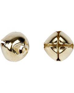 Clochettes, d: 8+10+13 mm, or, 18 ass./ 1 Pq.
