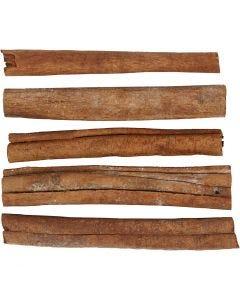 Bâtons de cannelle, L: 7-8 cm, 5 pièce/ 1 Pq.