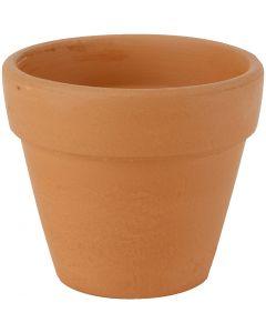 Pots de fleurs, H: 8 cm, d: 9 cm, 24 pièce/ 1 boîte