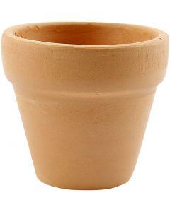 Pots de fleurs, H: 4,2 cm, d: 5 cm, 48 pièce/ 1 boîte