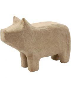 Cochon, H: 9,5 cm, L: 14 cm, 1 pièce