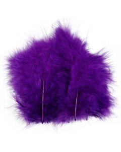 Plumes , dim. 5-12 cm, violet, 15 pièce/ 1 Pq.
