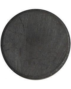 Aimants, d: 14,5 mm, ép. 3 mm, 50 pièce/ 1 Pq.