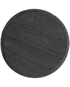 Aimants, d: 20 mm, ép. 3 mm, 50 pièce/ 1 Pq.