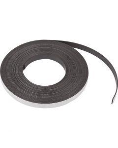 Bande magnétique, L: 12,5 mm, ép. 1,5 mm, 10 m/ 1 Pq.
