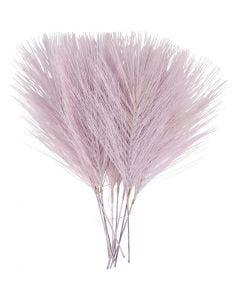 Plumes artificielles, L: 15 cm, L: 8 cm, violet, 10 pièce/ 1 Pq.