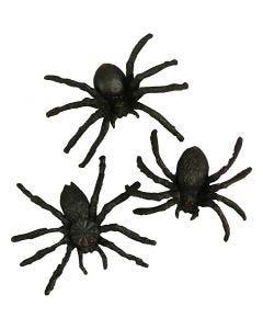 Araignées, dim. 4 cm, 10 pièce/ 1 Pq.
