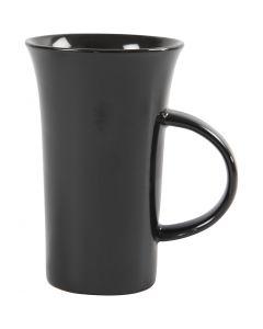 H: 15 cm, d: 9,5 cm, noir, 6 pièce/ 1 boîte