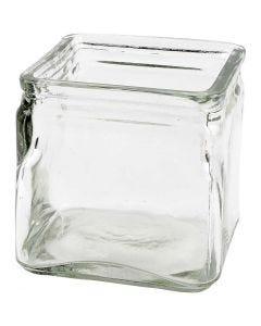 Chandeliers carrés, H: 10 cm, dim. 10x10 cm, 12 pièce/ 1 boîte