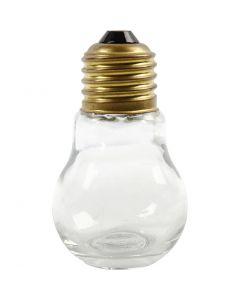 Ampoules, H: 8 cm, 12 pièce/ 1 boîte