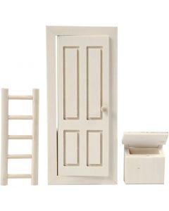 La porte du lutin, dim. 8x18 cm, 1 set