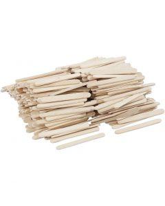 Bâtonnets de glace, L: 5,5 cm, L: 6 mm, 400 pièce/ 1 Pq.