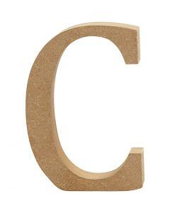 Lettre, C, H: 8 cm, ép. 1,5 cm, 1 pièce