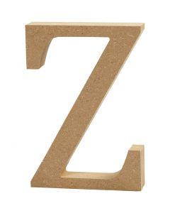 Lettre, Z, H: 8 cm, ép. 1,5 cm, 1 pièce