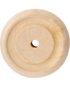 Roue, d: 30x10 mm, 40 pièce/ 1 Pq.
