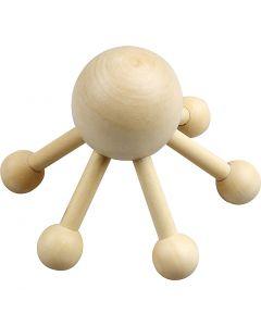 Araignée de massage, H: 10 cm, L: 13 cm, 1 pièce