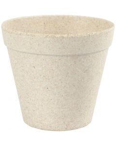 Pot de fleurs, H: 10 cm, d: 11 cm, 1 pièce