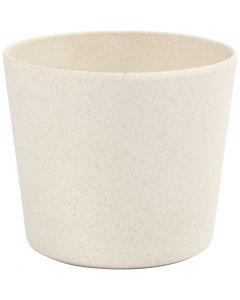 Pot de fleurs, H: 6,5 cm, d: 7 cm, 1 pièce