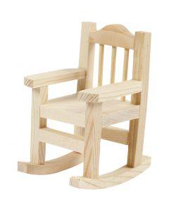 Chaise à bascule, H: 8,8 cm, L: 5,5 cm, 1 pièce