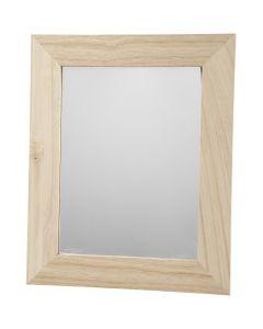Miroir, dim. 26x32 cm, 1 pièce