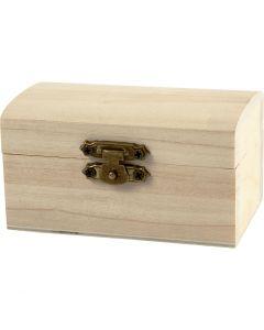 Boîte à trésor, dim. 9x5,2x4,9 cm, 10 pièce/ 1 Pq.