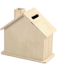 Tirelire, dim. 10,1x10x5,4 cm, 1 pièce