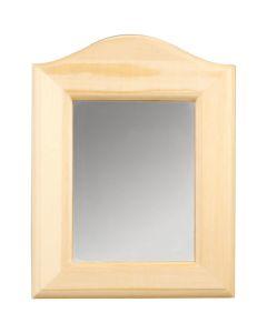Miroir, dim. 19x27x1,5 cm, 1 pièce