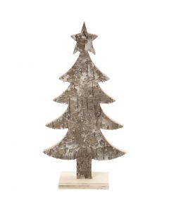 Sapin de Noël, H: 18 cm, L: 9 cm, 1 pièce
