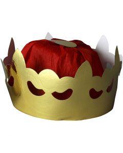 Couronne de roi, H: 11 cm, d: 19 cm, 1 pièce