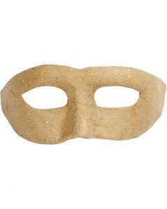Masque demi-visage, H: 8 cm, L: 21 cm, 1 pièce