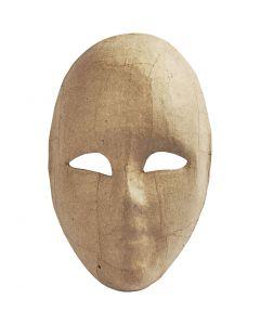Masque visage , H: 23 cm, L: 16 cm, 1 pièce