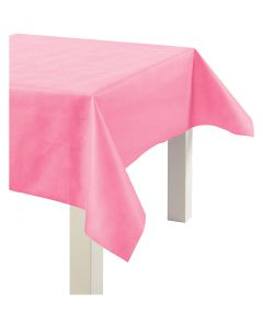 Nappe de table ou immitation tissu, L: 125 cm, 70 gr, rose, 10 m/ 1 rouleau