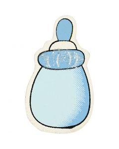 Boîte de lait, dim. 22x37 mm, bleu clair, 10 pièce/ 1 Pq.