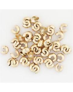 Cache-noeud, d: 5 mm, doré, 500 pièce/ 1 Pq.