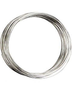 Bracelet spirale, d: 5 cm, ép. 0,7 mm, argenté, 1 pièce